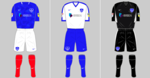 Historical Kits images of Portsmouth FC shirts